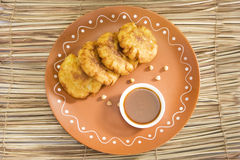 Aloo Tikki or Fried Potato Balls or Chaat Royalty Free Stock Photo