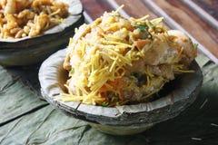 Aloo Tikki o cotolette della patata dall'India Fotografie Stock Libere da Diritti