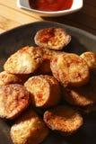 Aloo Tikki o cotolette della patata dall'India Fotografie Stock