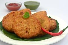Aloo tikki -potato patties Stock Image