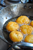 Aloo vada royalty free stock photography