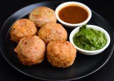 Aloo vada or aloo bonda Stock Images