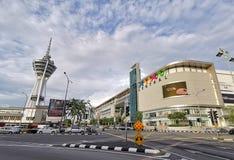 Alor Setar - el eje principal del transporte en la Malasia septentrional peninsular foto de archivo