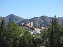 Alora Arabic castle Stock Image