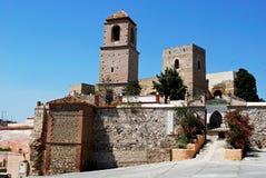 Alora castle. Royalty Free Stock Photos