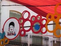 Alora Feria Portal Immagine Stock