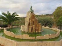 Alora-Flamenco-Brunnen Lizenzfreies Stockbild