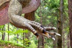Alosaurów pazury Zdjęcia Stock