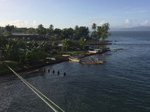 Alotau, Milne Bay, Papua New Guinea. stock photos