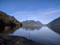 Alouette湖,不列颠哥伦比亚省,加拿大 免版税库存照片