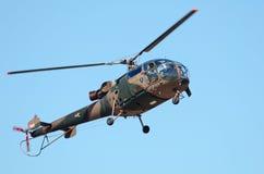 Alouette II in un'ascensione Fotografia Stock Libera da Diritti