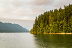 Alouette lake in Golden Ears park Vancouver, Canada Stock Images