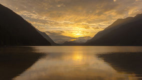 Alouette lake in Golden Ears park Vancouver, Canada Stock Photography