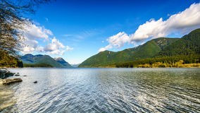 Alouette Lake in Golden Ears Provincial Park Royalty Free Stock Images