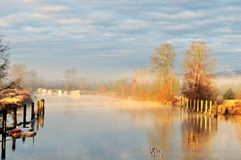 Alouette River, Pitt Meadows Royalty Free Stock Image
