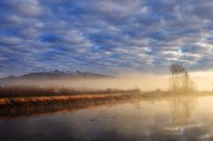 Alouette River, Pitt Meadows Royalty Free Stock Photos