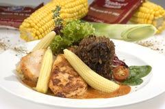 Aloyau cuit de porc Image libre de droits