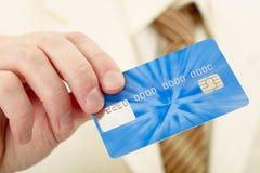 η πίστωση καρτών επιχειρημ&alp Στοκ Εικόνα