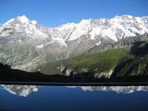 Alp-aholic reflections Stock Photo