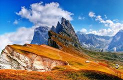 Alp, Clouds, Dolomites Royalty Free Stock Photos