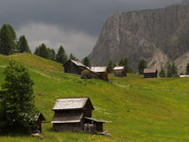 Alp in the Dolomites Royalty Free Stock Photography