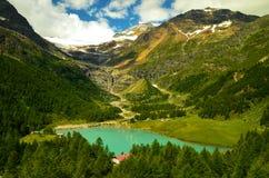 Alp Grum in der Schweiz Lizenzfreie Stockfotografie