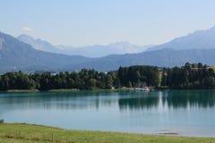 Alp Lakes in Duitsland, jaar 2009 Stock Afbeelding