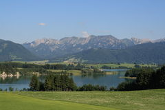 Alp Lakes in Germania, anno 2009 Fotografie Stock