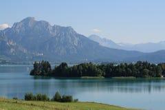 Alp Lakes in Germania, anno 2009 Immagine Stock Libera da Diritti