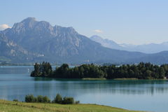 Alp Lakes i Tyskland, år 2009 Royaltyfri Bild