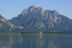 Alp Lakes i Tyskland, år 2009 Fotografering för Bildbyråer