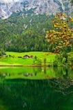 Alp landscape royalty free stock photo