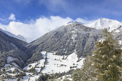 Alp landscape Stock Photo