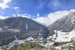 Alp landscape Royalty Free Stock Photos