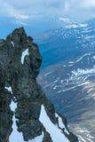 Alp Mountain rock view Royalty Free Stock Photos