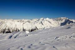 Alp mountains Royalty Free Stock Photo