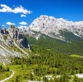 Alp Mountains di stupore Fotografia Stock Libera da Diritti