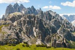Alp Mountains di stupore Immagine Stock Libera da Diritti