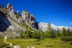 Alp Mountains di stupore Immagini Stock Libere da Diritti
