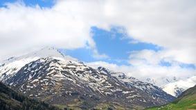 Alp mountains, switserland Royalty Free Stock Image