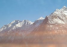 Alp Rocky Mountains royalty free stock photography