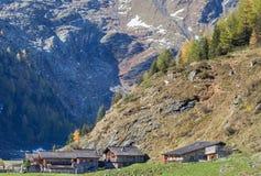 Alp village Stock Image