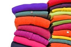 Alpaca de la cachemira y lanas coloridas del merino Foto de archivo