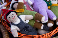 Alpaca dolls Royalty Free Stock Photo