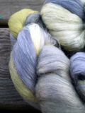 Alpaca and mohair wool Stock Images