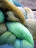 Alpaca and mohair wool Stock Photo