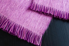 Alpaca scarf close up. Close up of alpaca wool scarf royalty free stock photography
