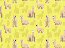 Alpaca Wallpaper. Animal Wallpaper EPS10 File Format Stock Photography