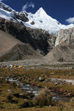alpamayo пиковое Перу Стоковые Фотографии RF
