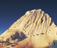 Alpamayo peak Stock Images